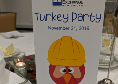 Turkey Party Table Topper