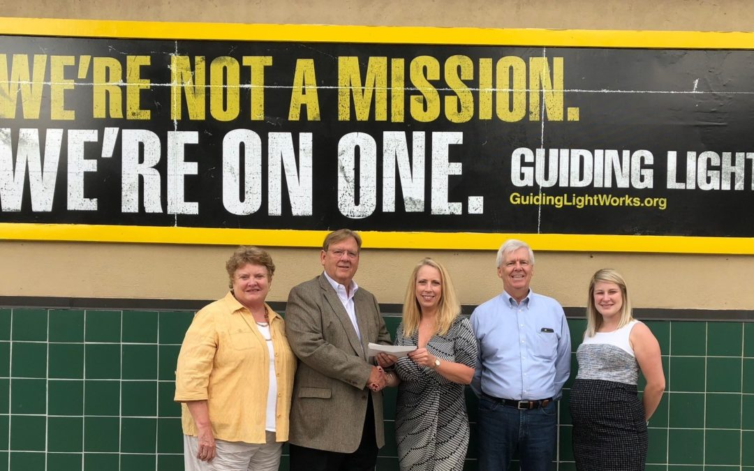62nd Annual Golf Outing Check Presentation