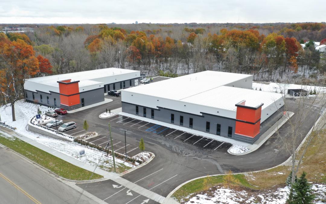 Construction Simplified Indian Creek Industrial Park