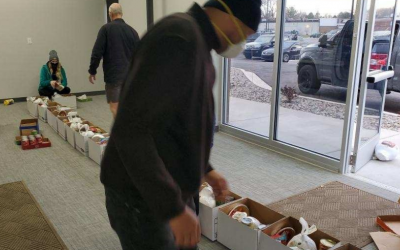 Nexus IT Systems Donates 150 Baskets of Food
