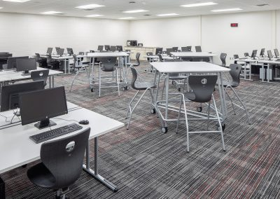 East Kentwood High School EKHS Math Wing Renovation Classroom