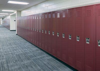 East Kentwood High School EKHS Math Wing Renovation Hall