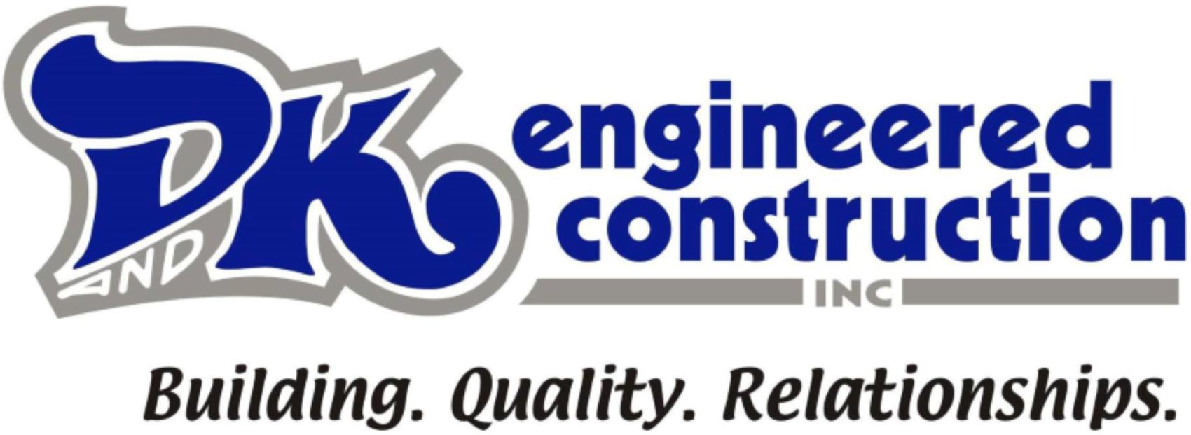 D&K Engineered Construction Logo