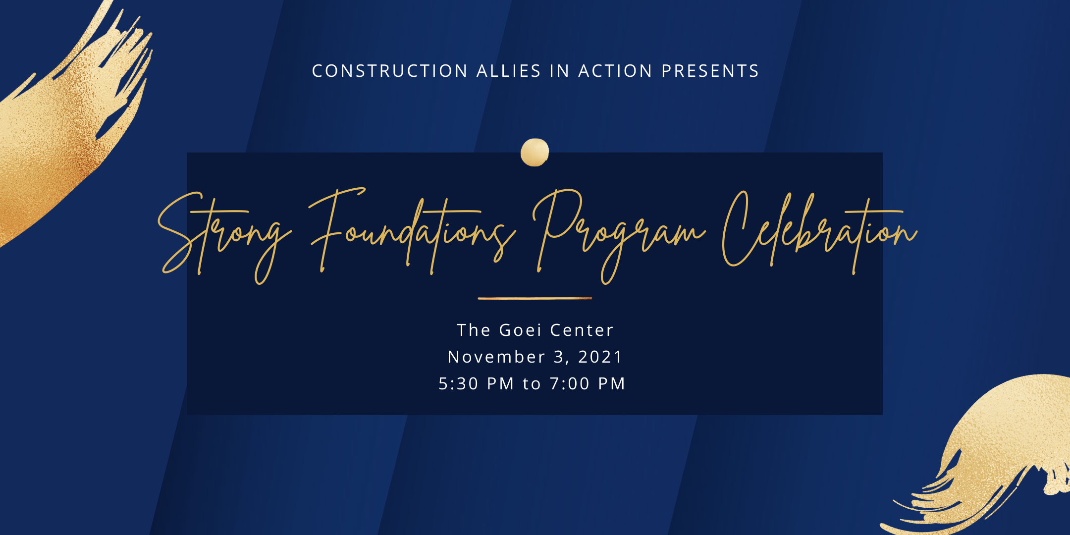 Strong Foundations Program Celebration 2021